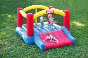 image of Little Tikes Inflatable Jump N Slide