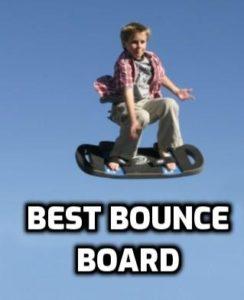 image of trampoline bounce board