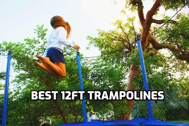image of trampoline 12ft