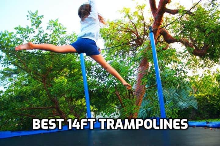 image of trampoline 14ft