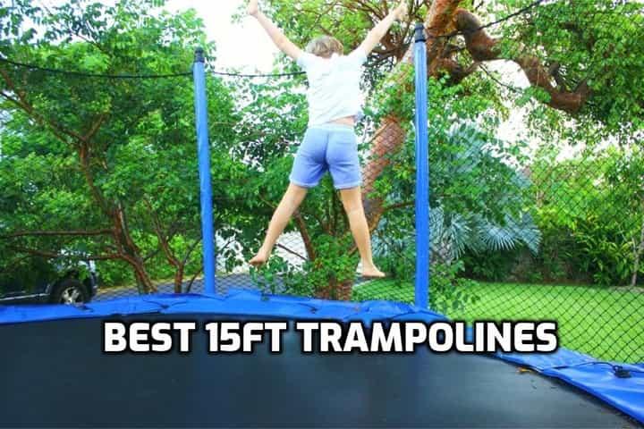 image of 15 feet trampoline