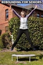 image of rebounder exercises for seniors|best rebounder for seniors