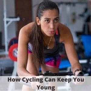 image of seniors exercise bike