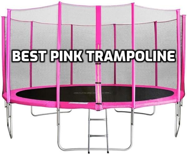 Best Pink Trampoline